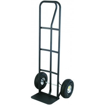 ProSource HT-1805 Hand Truck, 600 lb Weight Capacity, 14 in W x 9 in D Toe Plate, Steel, Black