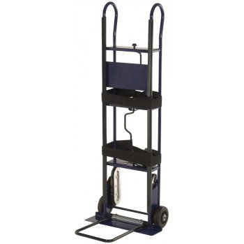 ProSource HT-PEN80001B Hand Truck, 700 lb Weight Capacity, 5-1/2 in D x 22 in W Toe Plate, Blue