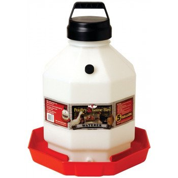 Little Giant PPF5 Poultry Waterer, 5 gal Capacity, Plastic
