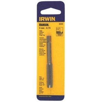 IRWIN 8331 Thread Tap, 7 mm - 1 Thread, Plug Tap Thread, 4-Flute, HCS