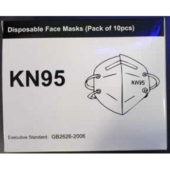 KN95 Face Mask 10 PK
