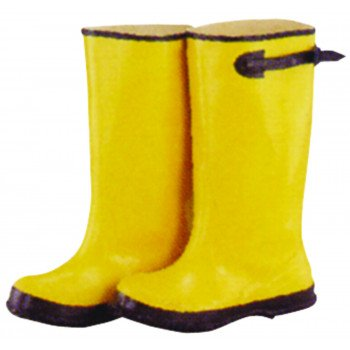 Diamondback Simple Spaces RB001-10-C Over Shoe Boots, 10, C W, Yellow, Rubber Upper