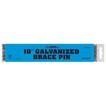 Zareba HTBP10/400-403T Electric Fence Brace Pin, Carbon Steel, Galvanized, For: Vertical Brace Posts