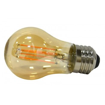 Sylvania Ultra 75343 Vintage LED Lamp, 120 V, 4.5 W, Medium E26, A15 Lamp, Warm White Light