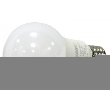 Sylvania 74077 LED Bulb, Semi-Directional, A19 Lamp, 40 W Equivalent, Medium Lamp Base, Frosted, Warm White Light