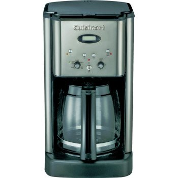 Cuisinart DCC-1200 Coffee Maker, 60 oz Capacity, 1025 W, Stainless Steel, Black, Automatic Control