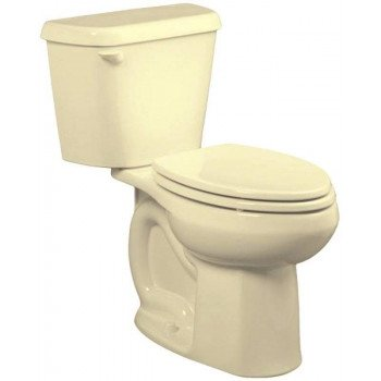 American Standard Colony 751AA101.021 ADA Complete Toilet, Elongated Bowl, 1.28 gpf Flush, 12 in Rough-In, 16-1/2 in H Rim