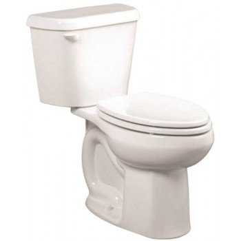 American Standard Colony 751CA101.020 Complete Toilet, Elongated Bowl, 1.28 gpf Flush, 12 in Rough-In, 15 in H Rim
