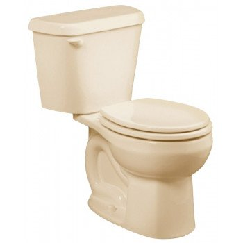 American Standard Colony 751DA101.021 Complete Toilet, Round Bowl, 1.28 gpf Flush, 12 in Rough-In, Vitreous China