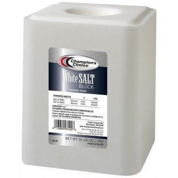 Cargill Champion's Choice 100012578 Salt Block, 50 lb