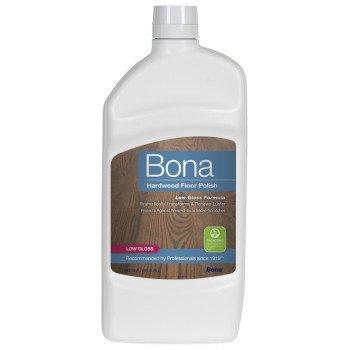 Bona WP500359001 Floor Polish, 36 oz, Liquid, Slight Sweet, White