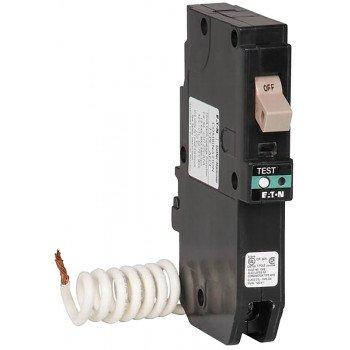 Cutler-Hammer CHFCAF120 Circuit Breaker, Arc-Fault, Type CH, 20 A, 1-Pole, 120/240 V, Plug Mounting