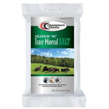 Cargill Champion's Choice Selenium 90 Series 100012574 Trace Mineral Salt, 50 lb Bag