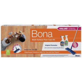 Bona WM710013501 Multi-Surface Floor Care Kit, Blue