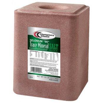 Cargill Champion's Choice Selenium 90 Series 100012623 Trace Mineral Salt, 50 lb
