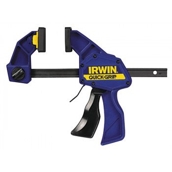 IRWIN QUICK-GRIP 1964717 Bar Clamp/Spreader, 300 lb Weight Capacity, 6 in Max Opening, 3-3/16 in D Throat