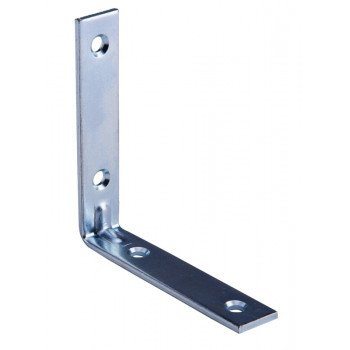 Prosource CB-Z03.5-01PS Corner Brace, 3-1/2 in L, 3-1/2 in W, 3/4 in H, Steel, Zinc Plated, 3 mm Thick Material